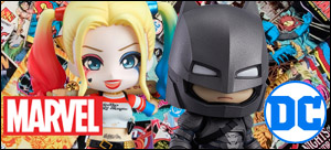 Marvel and DC Merchandise