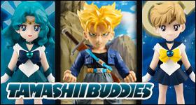 Tamashii Buddies Figures