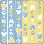 "Cardcaptor Sakura - ""Ichiban Kuji - Japanese Modern Art"" - Kero and Spinel Sun Hand Towel (Prize G)"