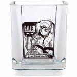 "Code Geass- ""Ichiban Kuji - Code Black in Ashford ~ 1st Live Encore"" Kallen Premium Glass Tumbler (Prize F)"