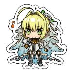 Fate/EXTRA CCC - Saber Acrylic Strap