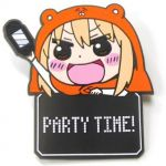 "Himouto! Umaru-chan - Umaru ""Party Time"" Pyokotte Rubber Clip"