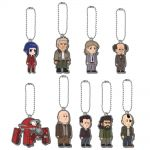 Ghost in the Shell ARISE - Public Security Section 9 Rubber Mascot Keychain