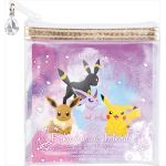 "Pokémon - ""Ichiban Kuji - Pikachu and Friends ~ Eevee Twinkle Dream~"" Eevee, Pikachu, Umbreon and Espeon Pouch (Prize I)"