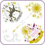 "Pokémon - ""Ichiban Kuji - Pikachu and Friends ~ Eevee Twinkle Dream~"" Espeon and Umbreon Hand Towel (Prize F)"