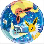 "Pokémon - ""Ichiban Kuji - Pikachu and Friends ~ Eevee Twinkle Dream~"" Jolteon, Flareon and Vaporeon Mirror (Prize H)"