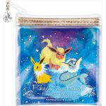 "Pokémon - ""Ichiban Kuji - Pikachu and Friends ~ Eevee Twinkle Dream~"" Jolteon, Flareon and Vaporeon Pouch (Prize I)"