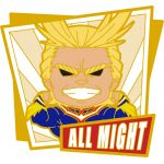 My Hero Academia - All Might Nendoroid Plus Rubber Magnet
