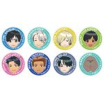 Yuri on Ice - Acrylic Clicky Badge Collection