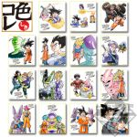 "Dragon Ball - ""Ichiban Kuji - Anime 30th Anniversary"" Shikishi Art Print (Prize E)"