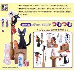"Kiki's Delivery Service - Jiji ""TsumuTsumu"" Stackable Figure Set (Ensky)"