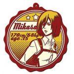 """Attack on Titan - """"Ichiban Kuji - Jiyuu e no Shingeki"""" Mikasa (Prize J) Rubber Drinks Coaster"""
