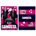 Gangsta - Worick and Nicolas 3 Pocket Document Wallet (A4)