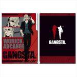 Gangsta - Worick 3 Pocket Document Wallet (A4)