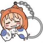 """Himouto! Umaru-chan - Umaru Tsumamare Key Chain """"Nekoronbus to Issho Ver."""""""
