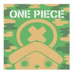 "One Piece - ""Ichiban Kuji -  Military Style"" Chopper Hand Towel (Prize F)"
