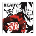 "One Piece - ""Ichiban Kuji -  Military Style"" Luffy Hand Towel (Prize F)"