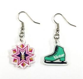 Yuri on Ice - Victor Nikiforov Acrylic Earrings