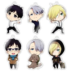 Yuri on Ice - Chara-Forme Acrylic Strap Collection