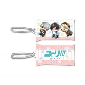 Yuri on Ice - Group GyuGyutto Stick Cushion Strap Mogumogu Ver.