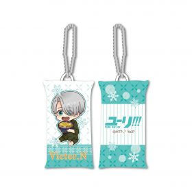 Yuri on Ice - Victor Nikiforov GyuGyutto Stick Cushion Strap Mogumogu Ver.