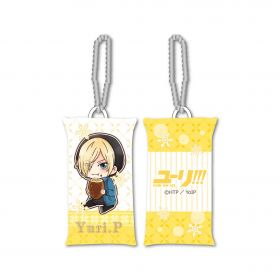 Yuri on Ice - Yuri Plisetsky GyuGyutto Stick Cushion Strap Mogumogu Ver.