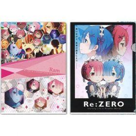 "Re:ZERO - ""Ichiban Kuji - First Lottery"" Rem and Ram File Folder Set (D Prize)"