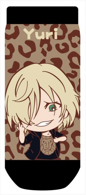 Yuri on Ice - Yuri PlisetskyTojiColle Socks