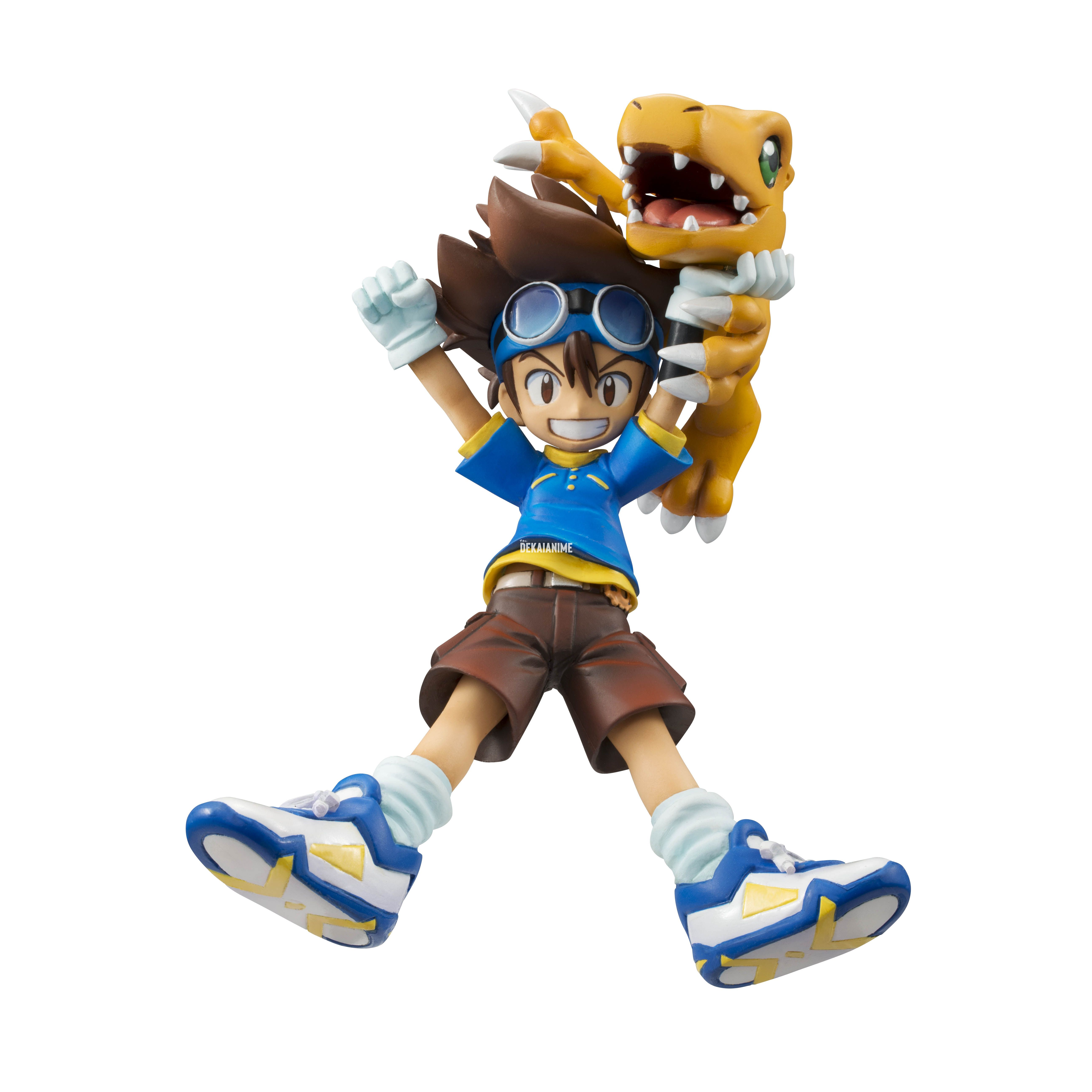 Digimon - Taichi and Agumon G E M  Series Figure (Mega House)