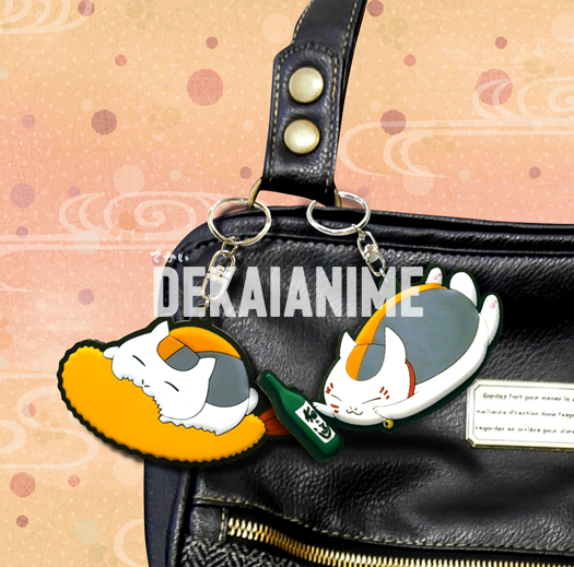 Natsume's Book of Friends - Nyanko-sensei Bendable Keychain Collection