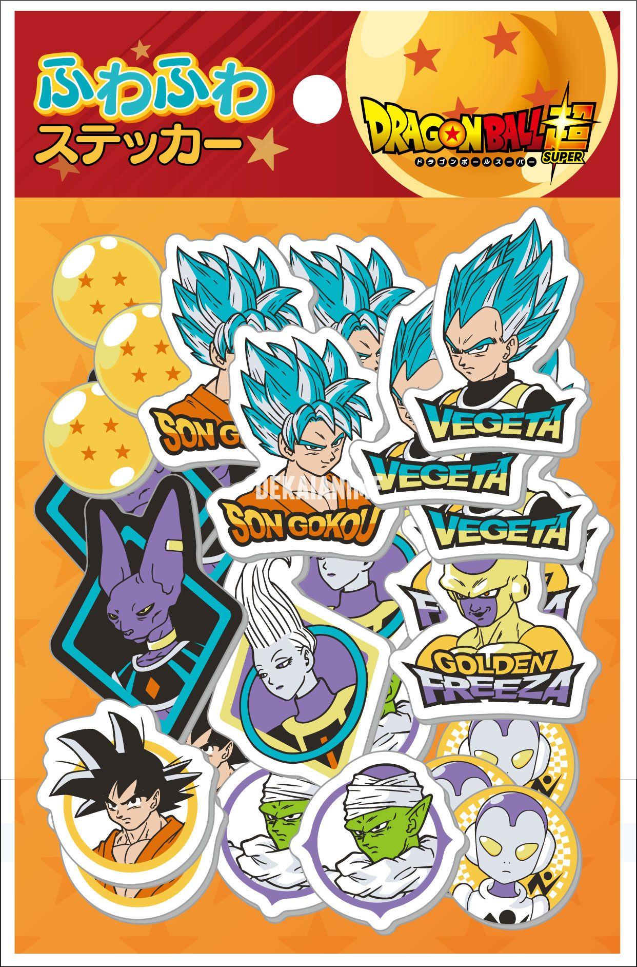 Shop by anime dragon ball dragon ball super fuwafuwa sticker set animuk uk retailer of anime merchandise
